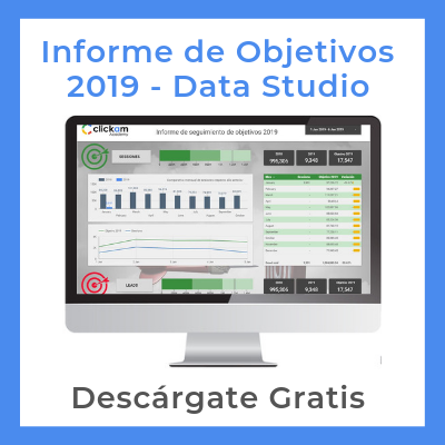informe objetivos data studio