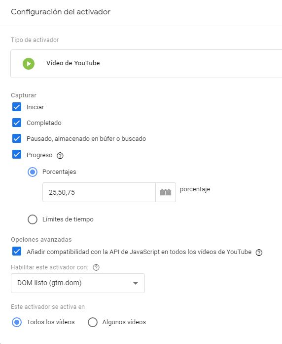 activador video youtube