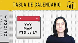 Tabla de calendario Power BI